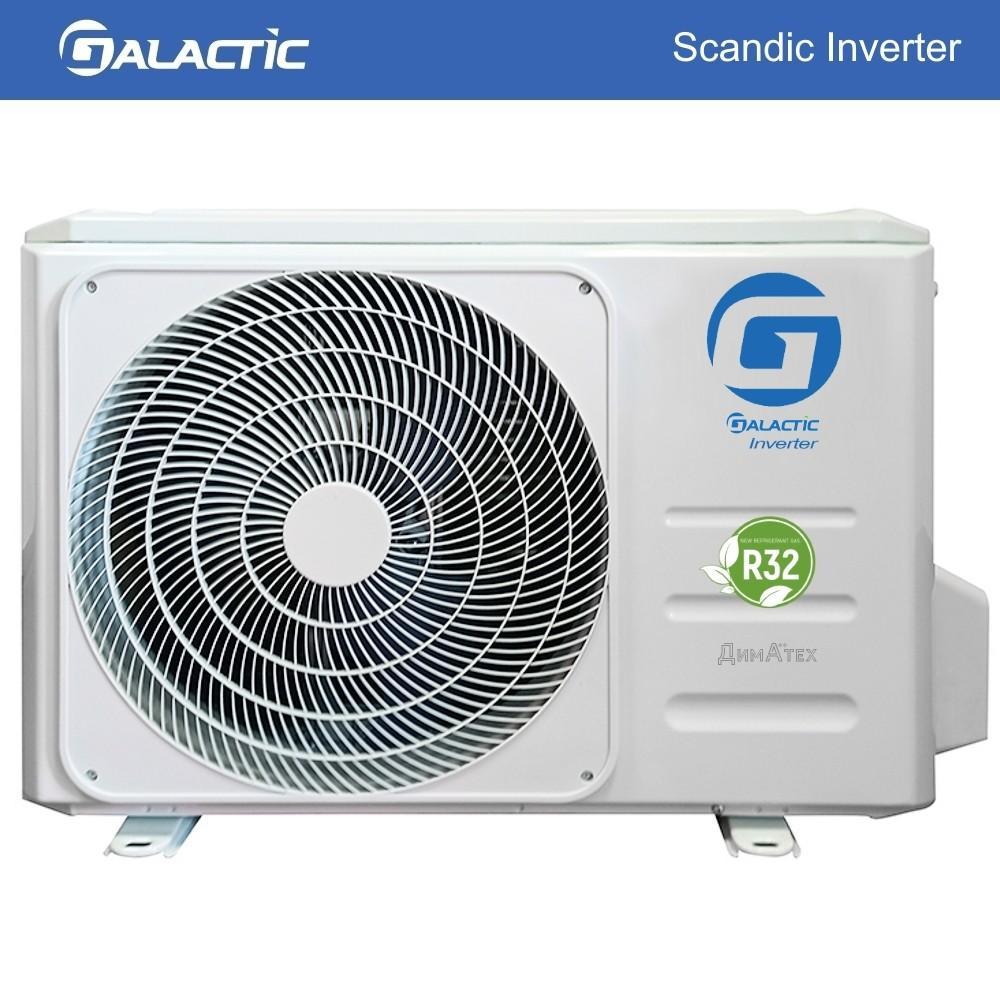Наружный блок Galactic_GCZ_SH-W_Scandic Inverter R32 фото dimateh.com.ua