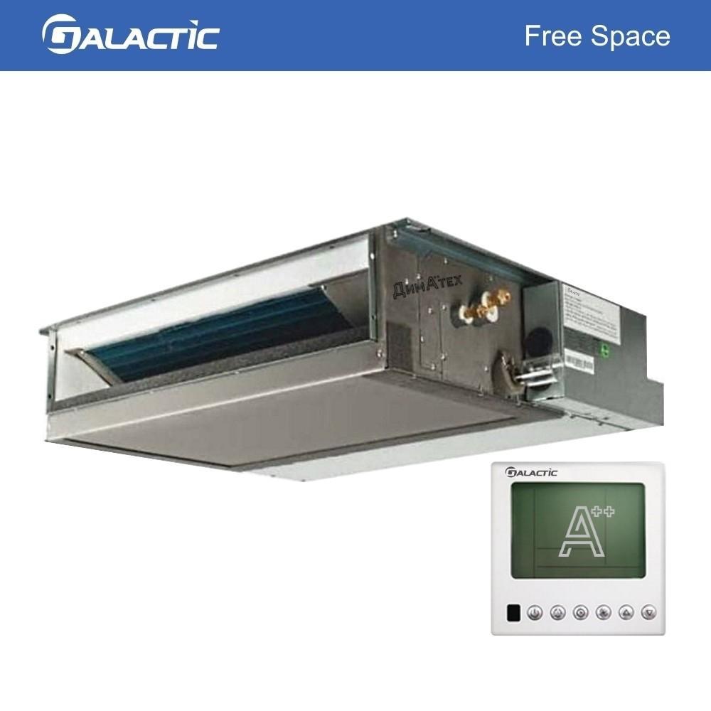Внутрішній блок канальний мульти-спліт Galactic GDM_H-S Free Space Inverter фото dimateh.com.ua