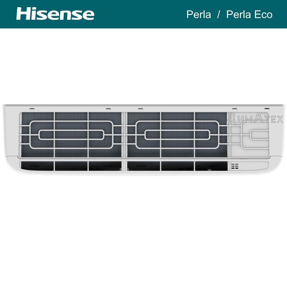 Внутрішній блок кондиціонера Hisense_CA35YR00G вид зверху фото dimateh.com.ua