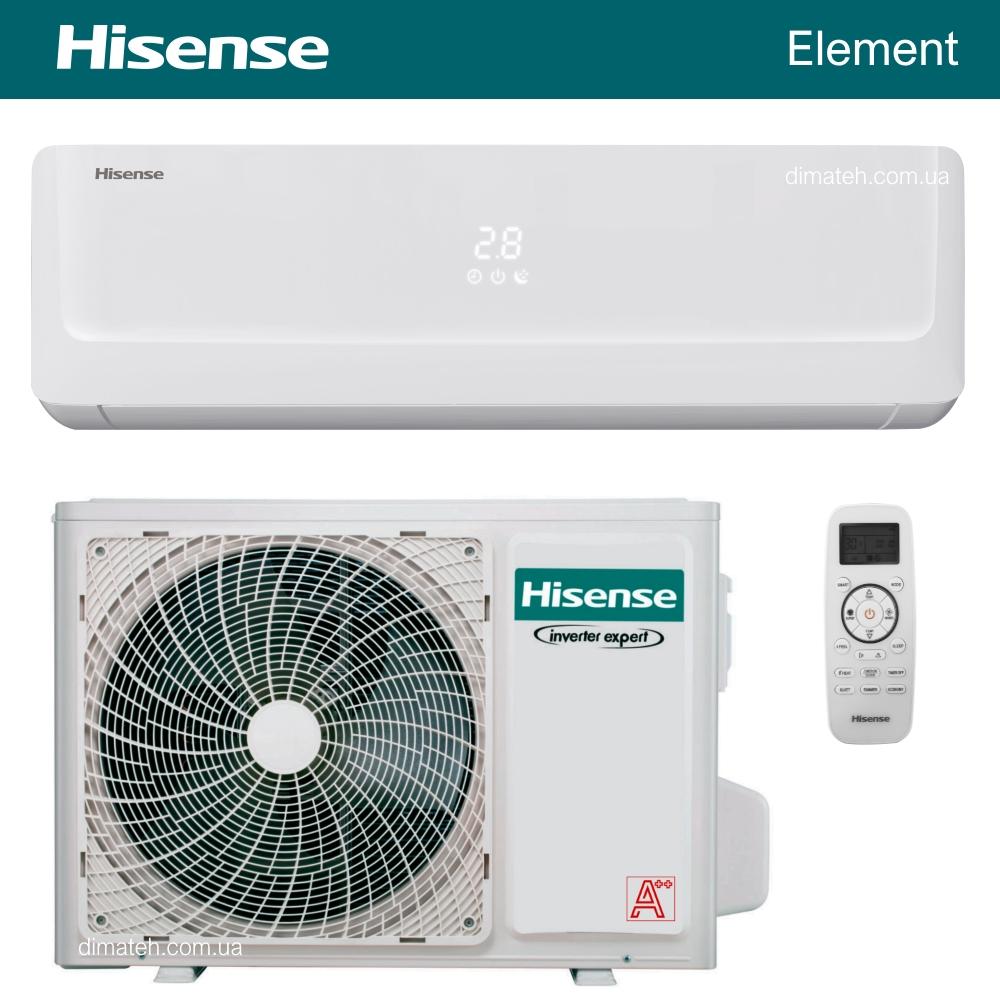 Кондиціонер Hisense Element TT20YD2D_TT25YD1D_TT35YD1D фото